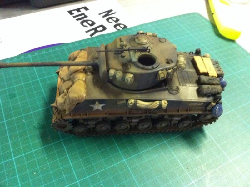 Sherman - Sherman M4A3E8 FIN DE GUERRE 11908010