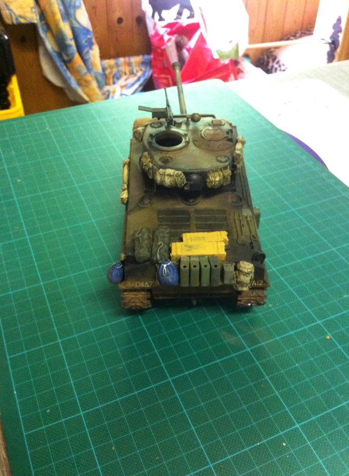 Sherman - Sherman M4A3E8 FIN DE GUERRE 11913310