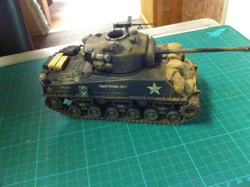 Sherman - Sherman M4A3E8 FIN DE GUERRE 11922910