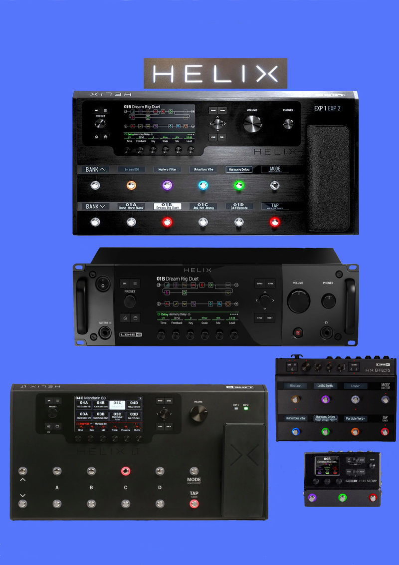 Line 6 Helix Bundle