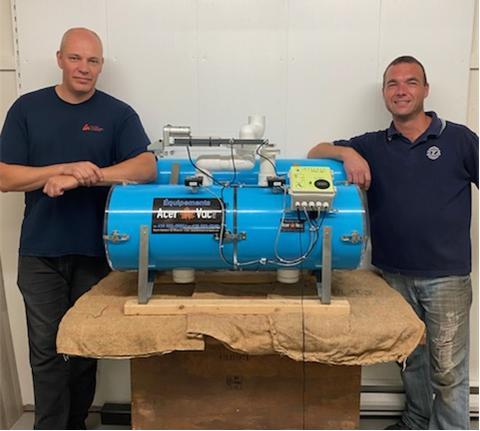Extracteur haut vacuum Acerva10
