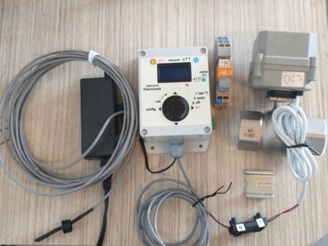 baisse de pression automatique pour érablière / thermostat Ensemb10