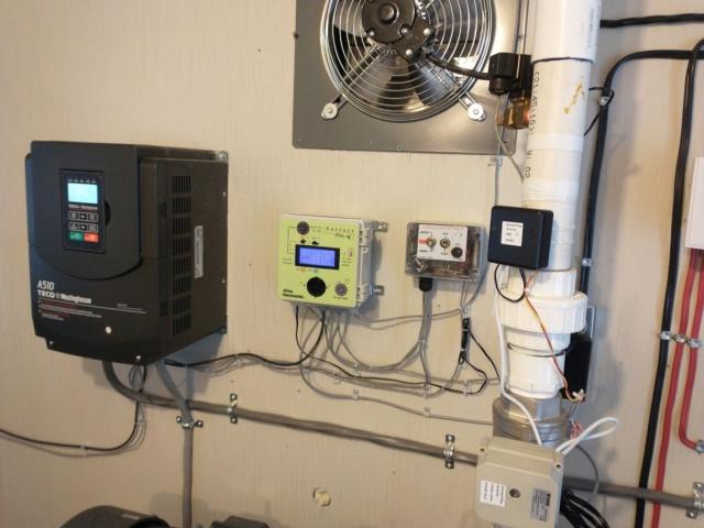 Contôle de pression vacuum pour station de pompage Instal11