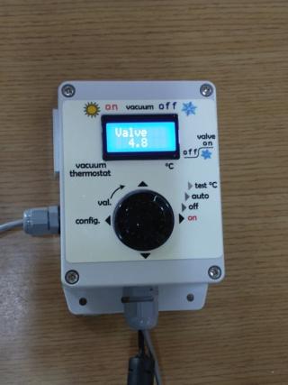 Contôle de pression vacuum pour station de pompage Vacuum10