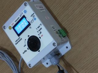 Contôle de pression vacuum pour station de pompage Vacuum12
