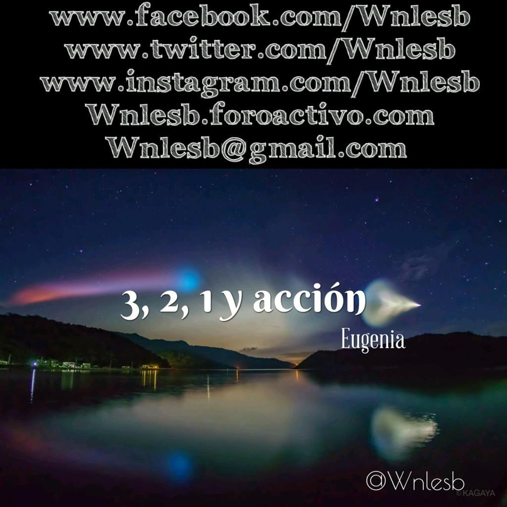 3, 2, 1 y Acción Por Eugenia 15380511
