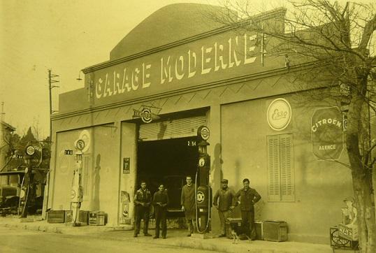 Vieux objets de garage & Station service