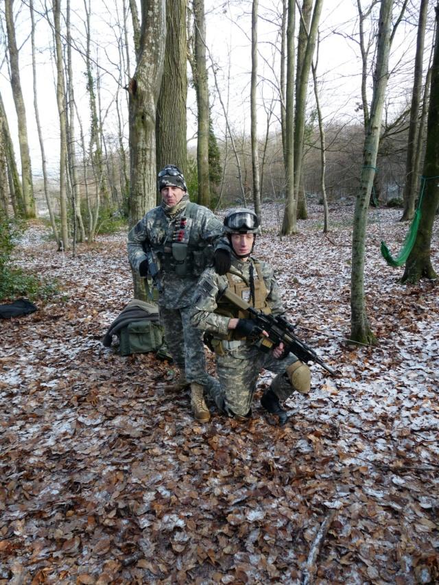Geardos US française  Bundeswehr Residant Evil  P1000410