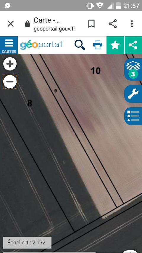 cadastre sur géoportail Screen23