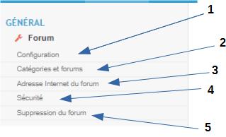 """Partie 2 Découverte d'un forum le P.A Onglet """"Général"""" P4_pa_10"""