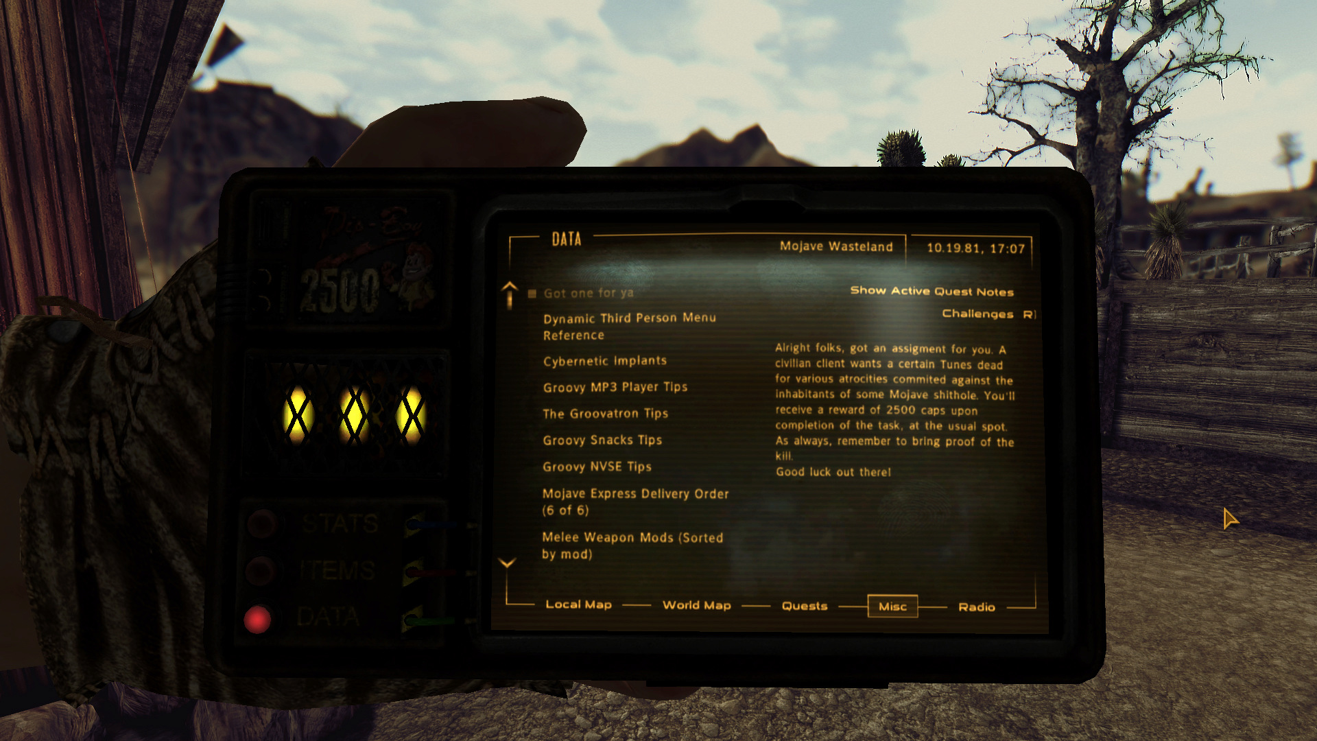New Vegas New Year - 2019 Community Playthrough - Page 5 Enb_2032