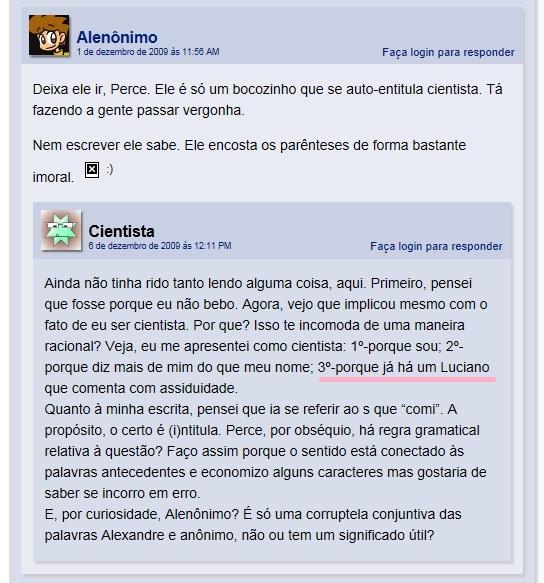 cientista DESMASCARADO!!!!!! Futuro12