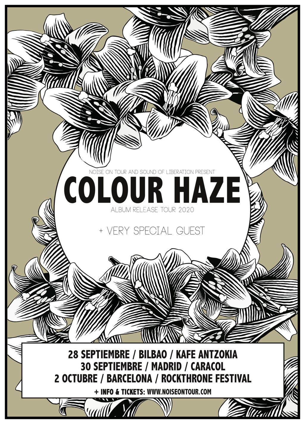 Gira 2021! COLOUR HAZE + artista (especial) invitado  Colour10
