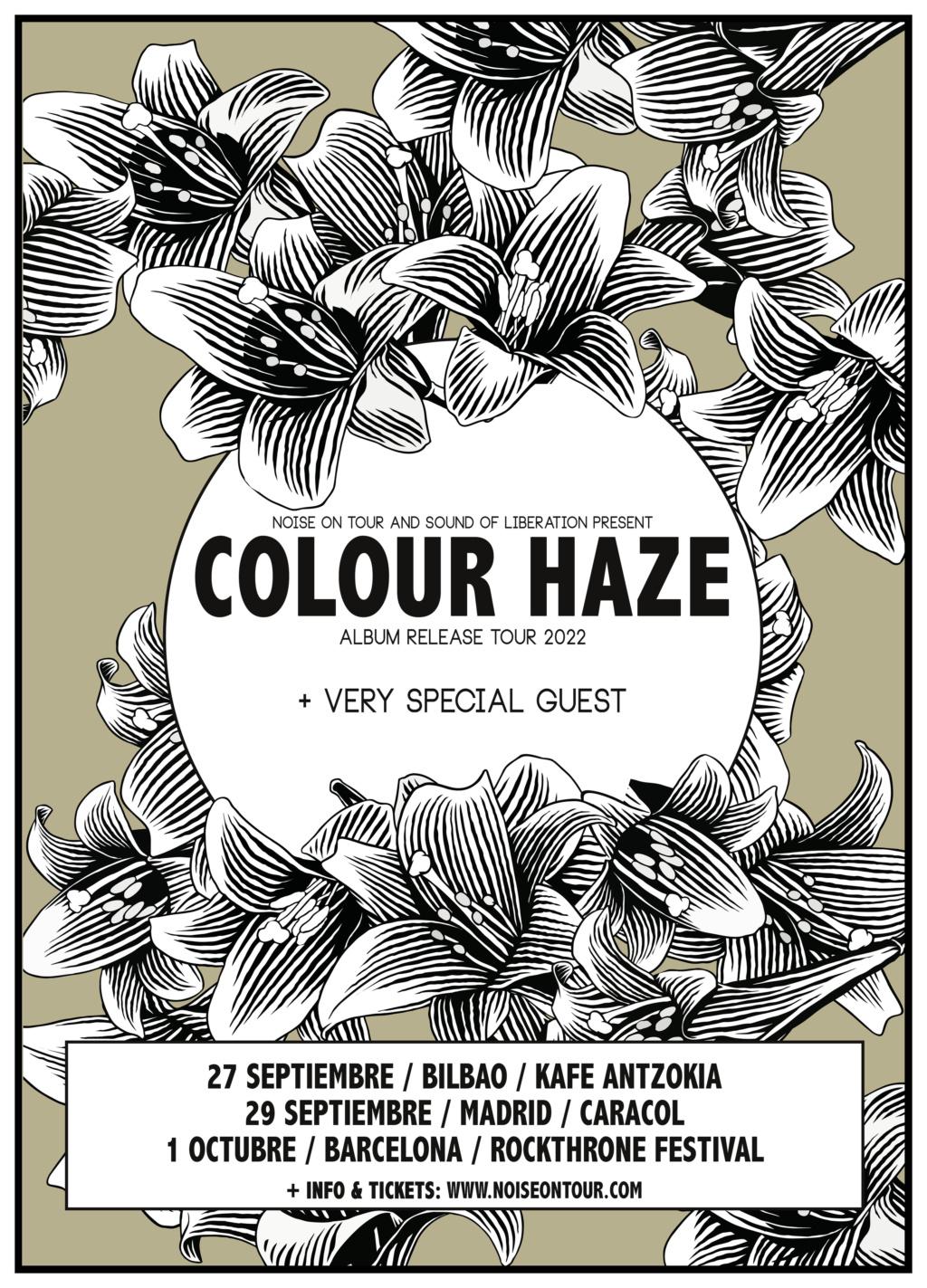 [ROCKTHRONE 2022] COLOUR HAZE + UNIDA + YAWNING MAN (TBC) + SATURNA   30/Sept + 1/Oct 2022   BARCELONA - Página 2 Colour12
