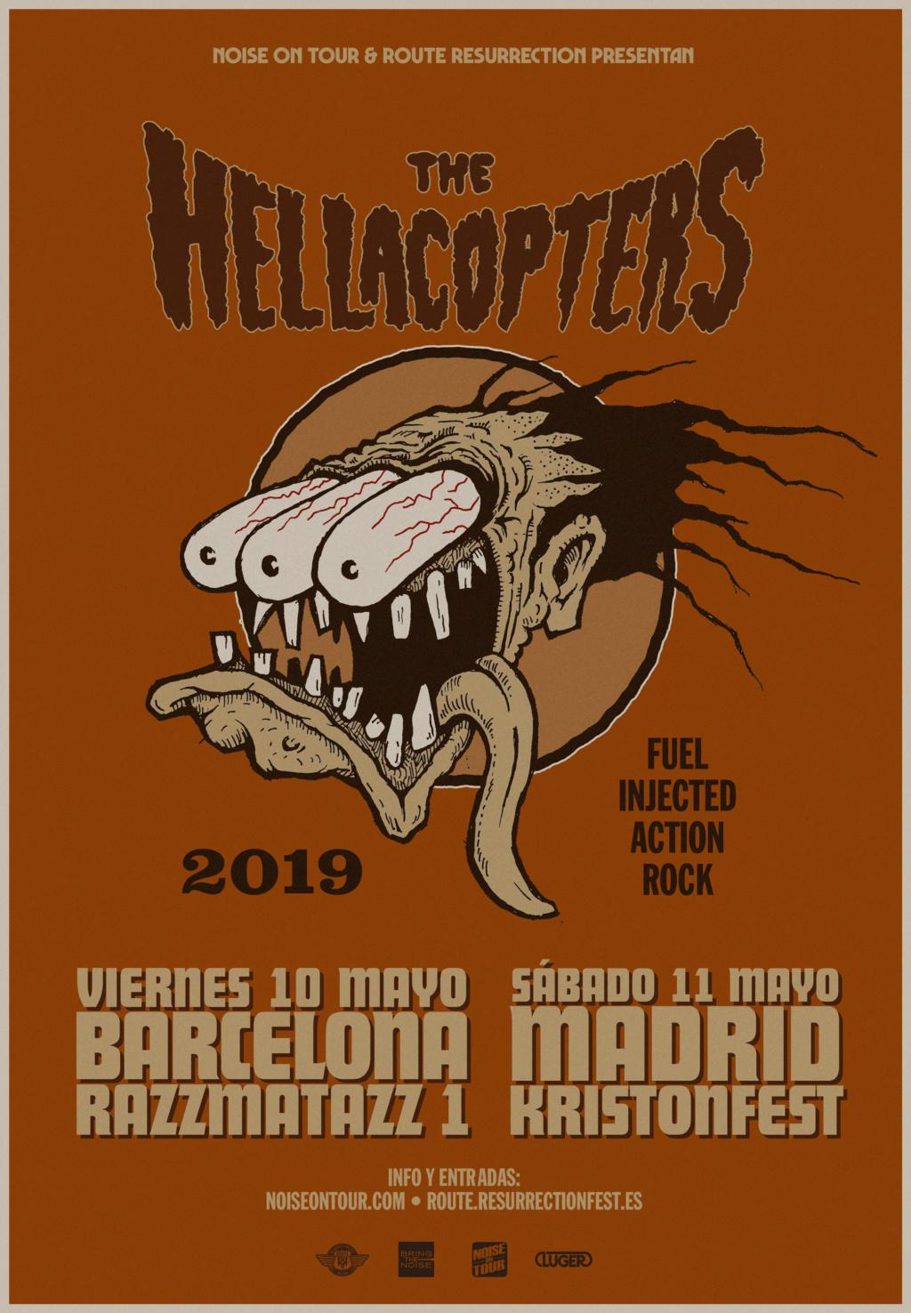 ¡VUELVEN THE HELLACOPTERS A BARCELONA! 10/Mayo - Razzmatazz 1 Hellac10