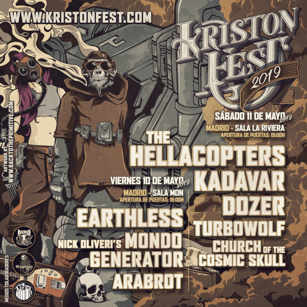 KRISTONFEST (10+11 Mayo, 2019) The Hellacopters, Earthless, Kadavar, Dozer, Nick Oliveri's Mondo Generator, Turbowolf, Church Of The Cosmic Skull y Arabrot - Página 8 Instag10