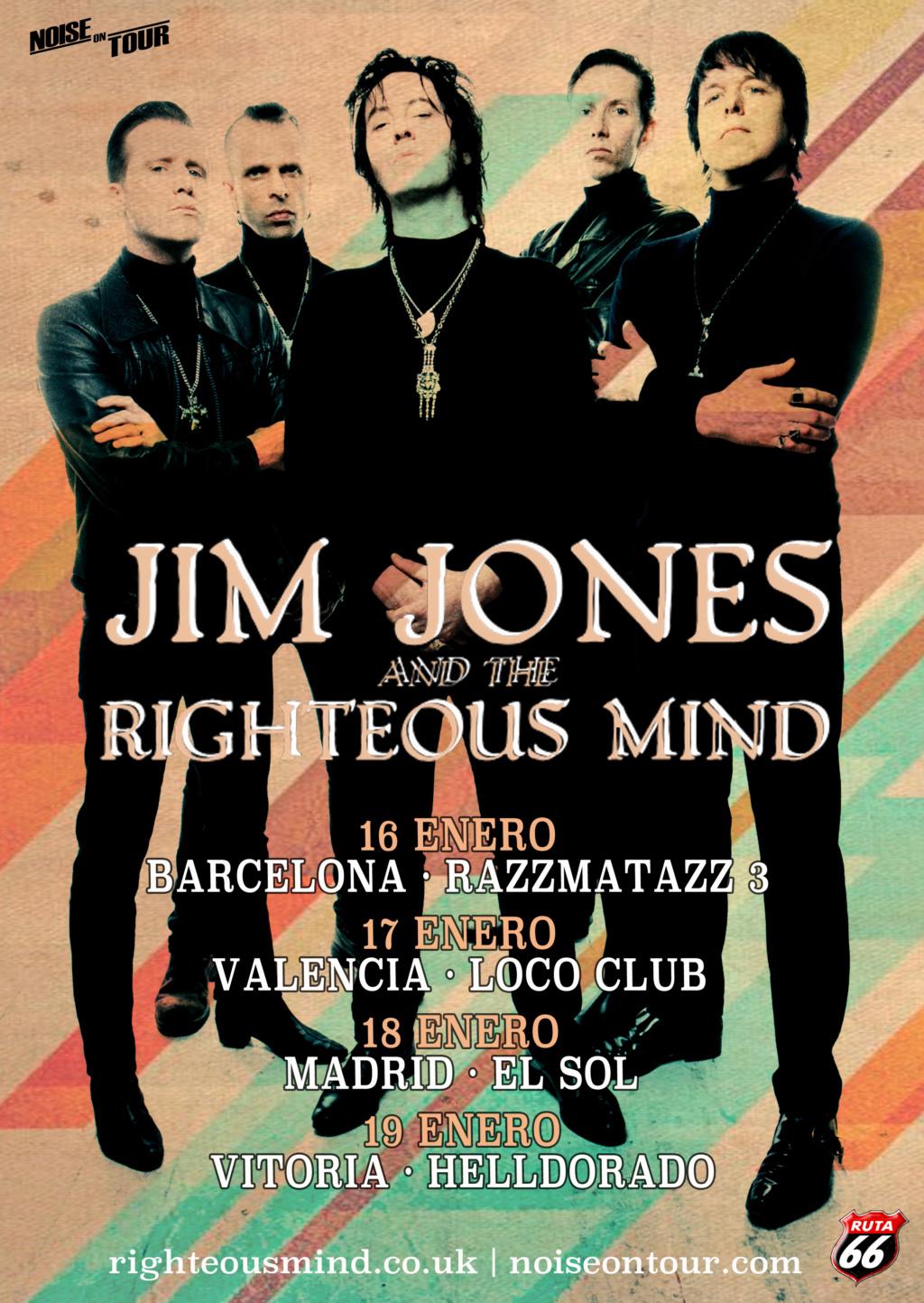 JIM JONES & THE RIGHTEOUS MIND - Gira en Enero2019 con disco nuevo bajo el brazo Jim_jo10