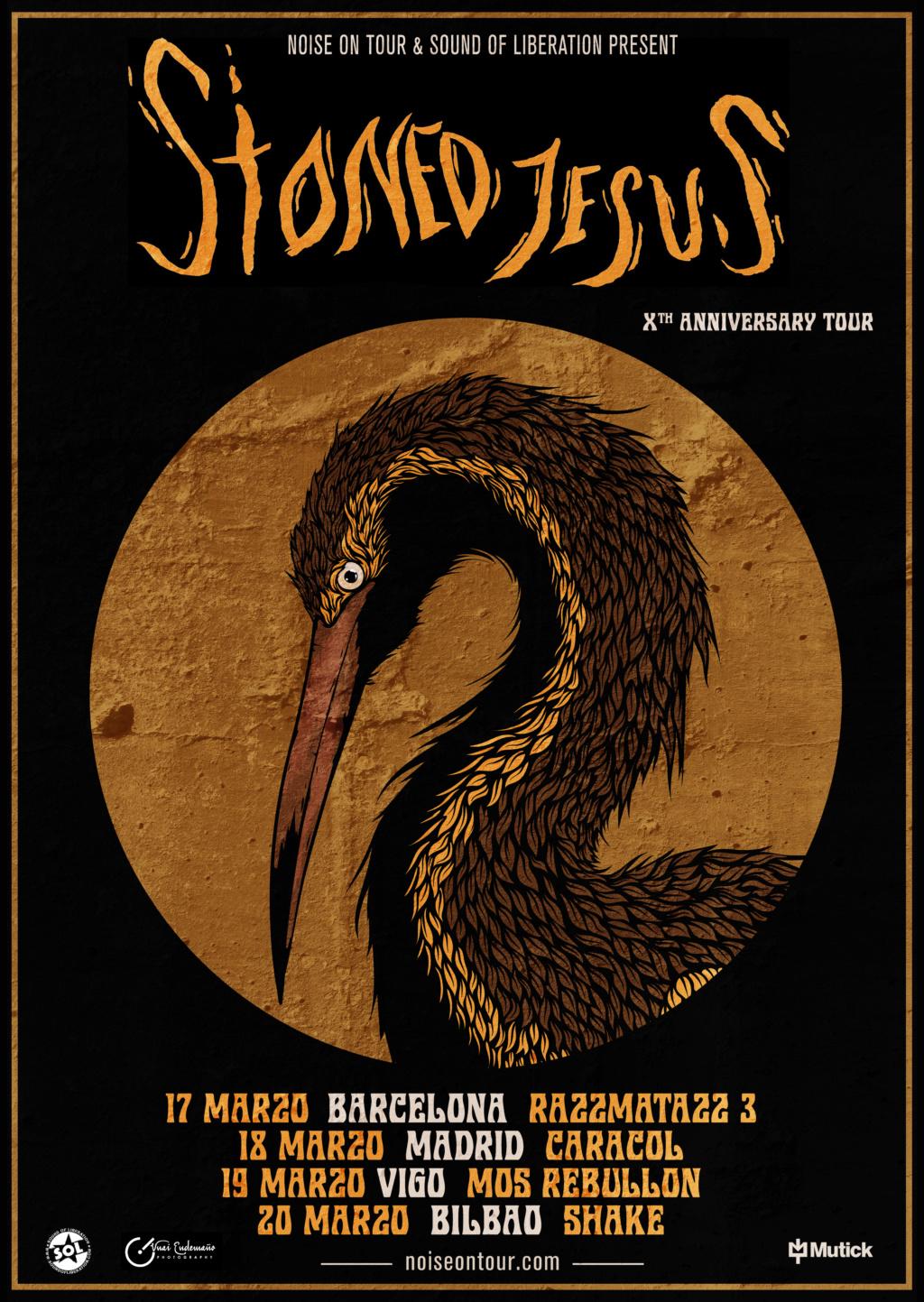 STONED JESUS - Gira X.Aniversario (Marzo 2020) Stoned10
