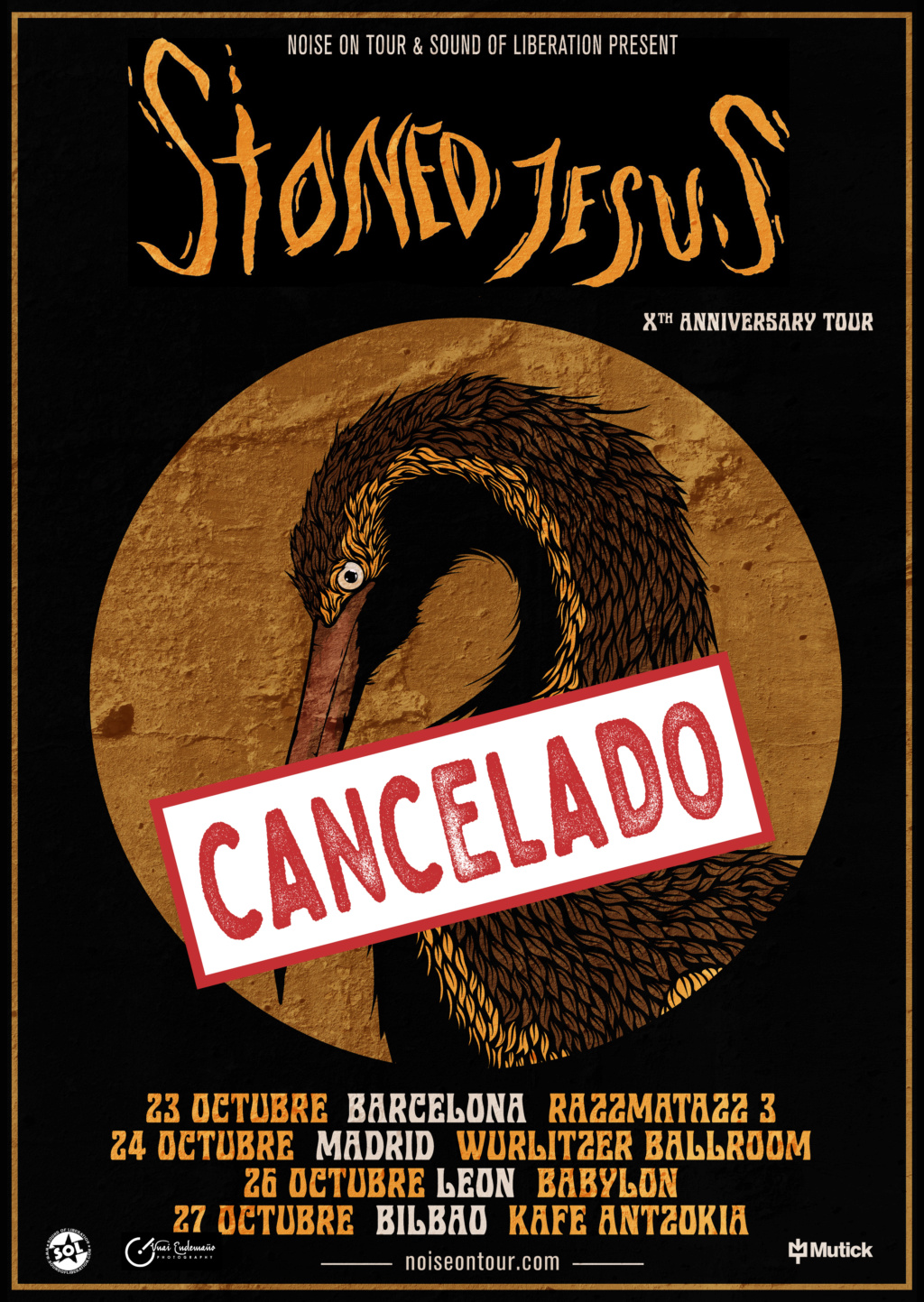 STONED JESUS - Gira X.Aniversario (Marzo 2020) Stoned12