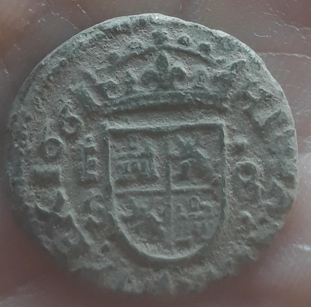 8 maravedis Felipe IV 1661 Segovia S 20190217