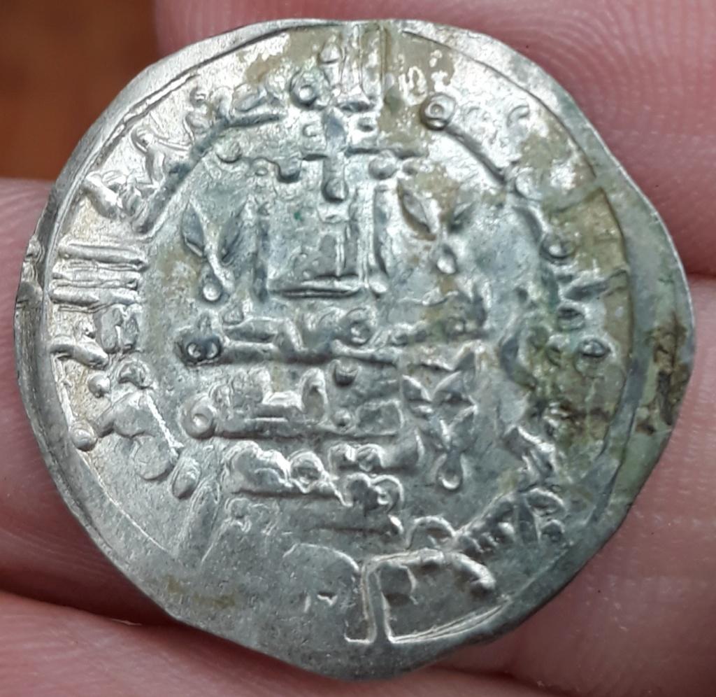 Dírham de Hixam II, 389 H, al-Ándalus 20190310