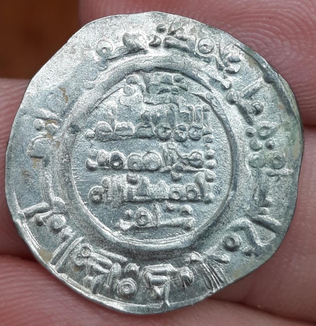 Dírham de Hixam II, 389 H, al-Ándalus 20190311
