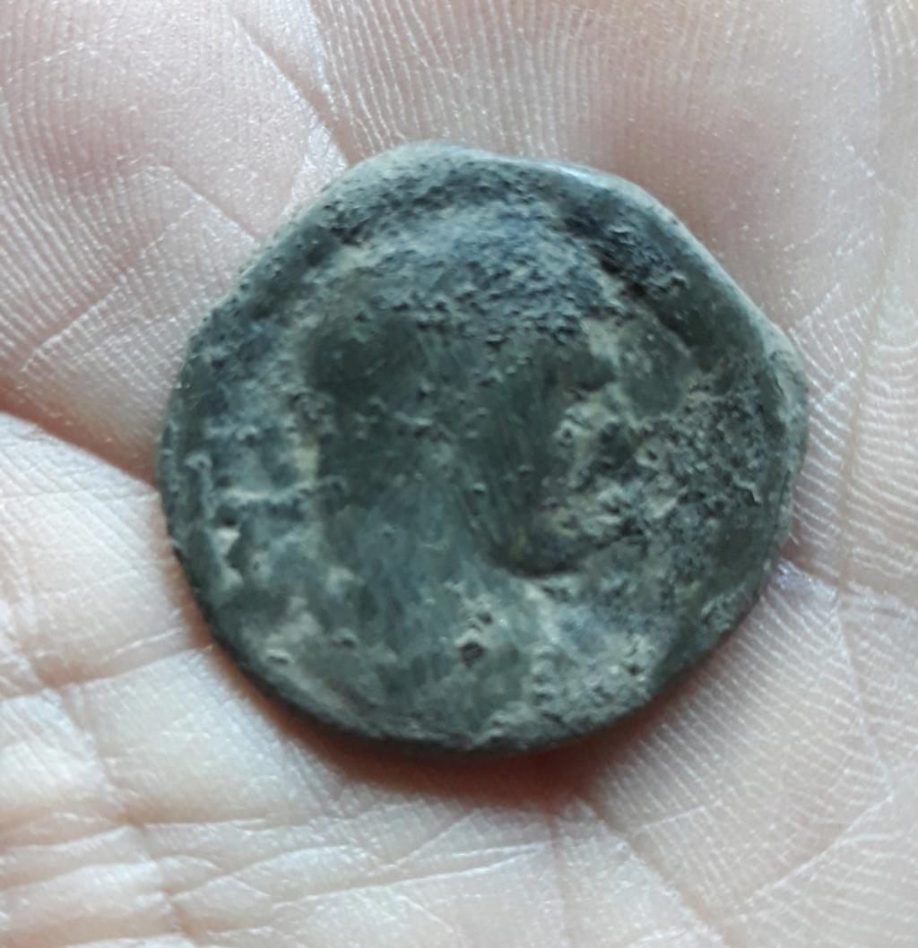 As de Caracalla. P M TR P XVIII COS IIII P P /S C. Esculapio 20190418