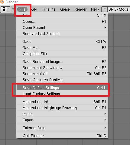 Interfaz (Menú) para Blender y modding TM Blende10