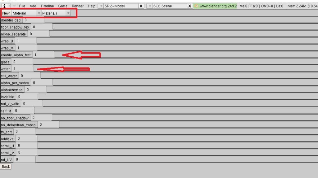 Exportar a .msh con canal Alfa aplicado Ejejee10