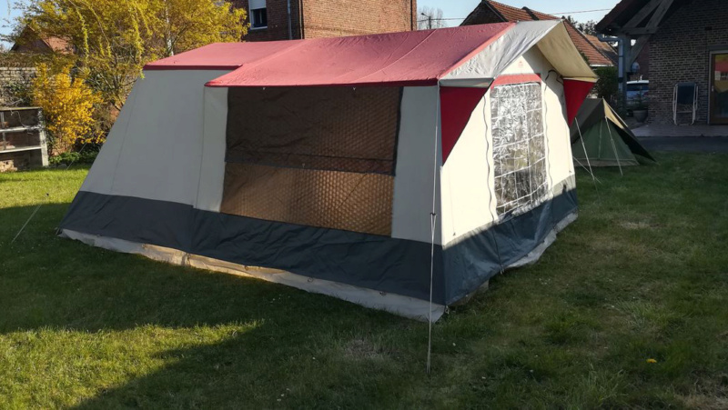 Choix tente 5 places - petit budget Tente110