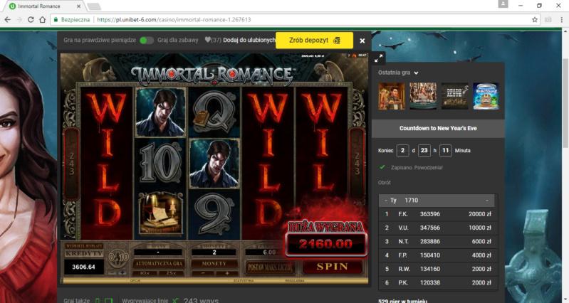 Screenshoty naszych wygranych (minimum 200zł - 50 euro) - kasyno - Page 22 Immort10