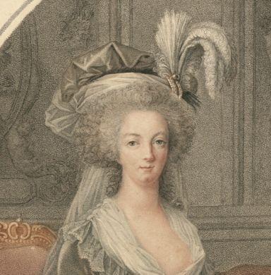 Marie-Antoinette au livre en robe bleue - Page 3 Native10