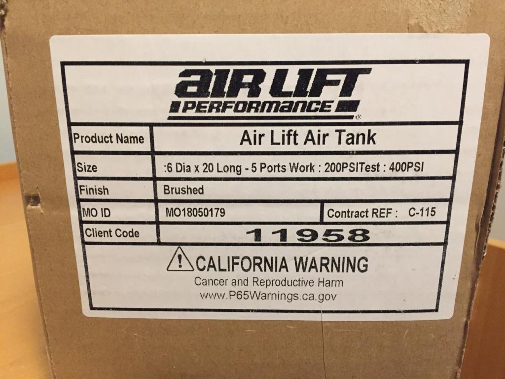 Airlift 2,5gal ilmasäiliö. Img_4716