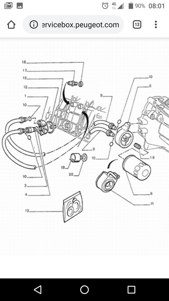 Problème canalisation acier sur modine d'huile Screen10