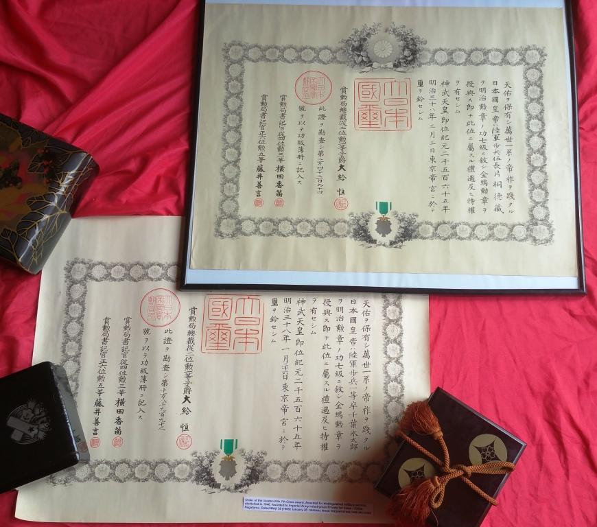 Le milan d'or sous Meiji, Taisho et Showa, les écrins..... 11_mil10