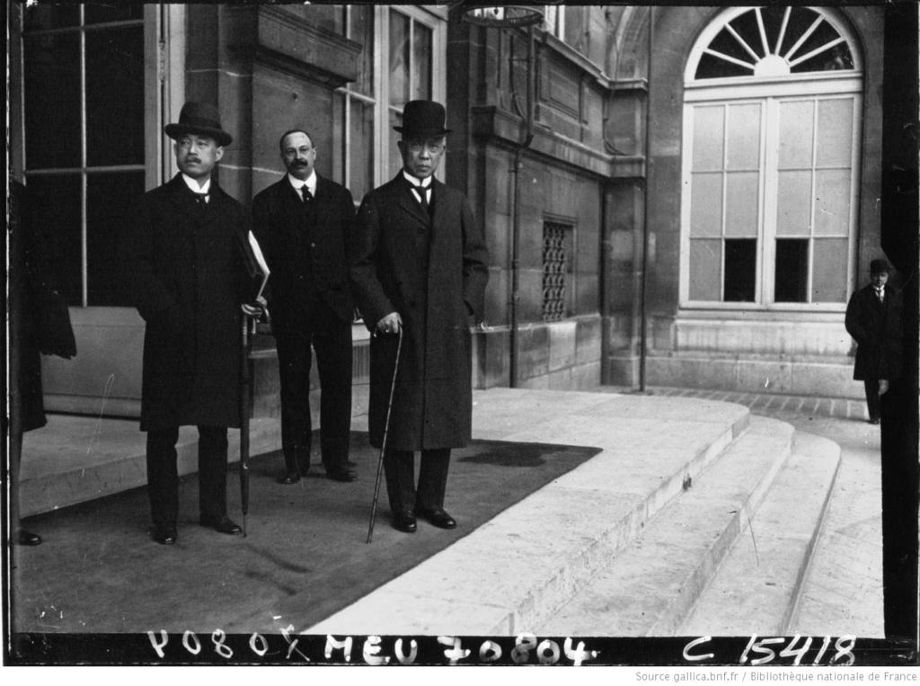 Un capitaine français reçoit les délégations Japonaises en France 1917/1920 12_con10