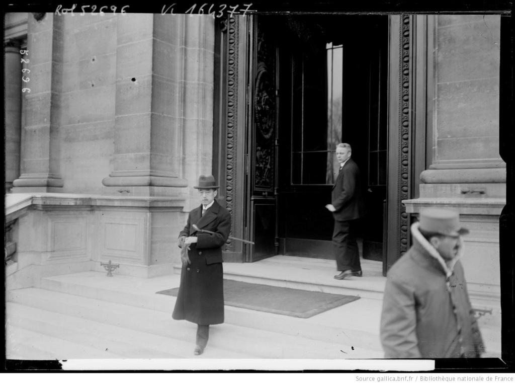 Un capitaine français reçoit les délégations Japonaises en France 1917/1920 13_con10