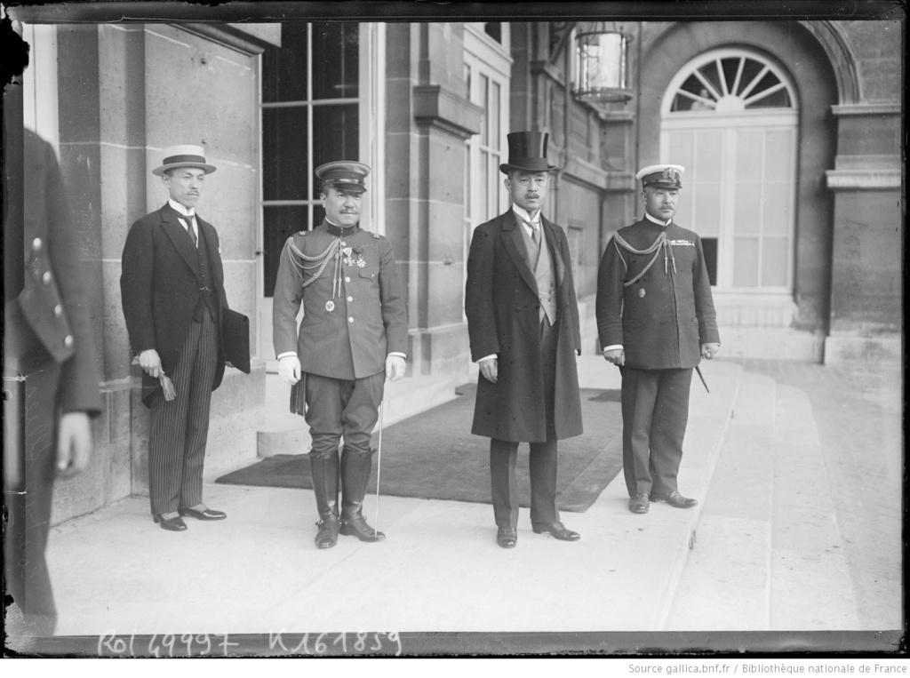 Un capitaine français reçoit les délégations Japonaises en France 1917/1920 14_m_k10