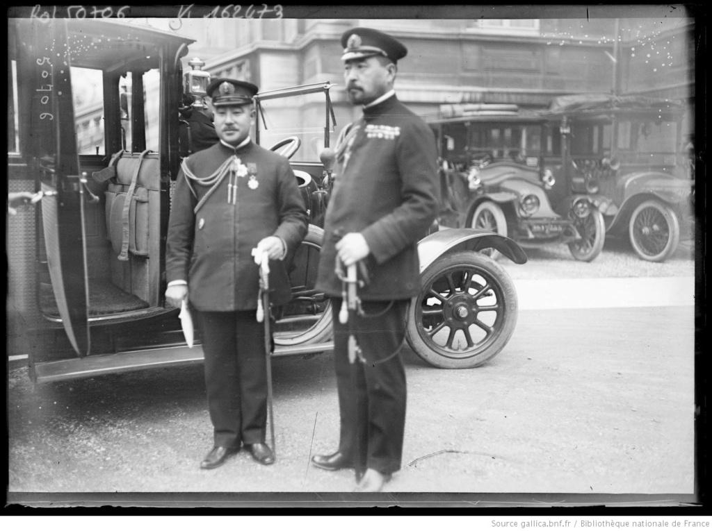 Un capitaine français reçoit les délégations Japonaises en France 1917/1920 15_con10