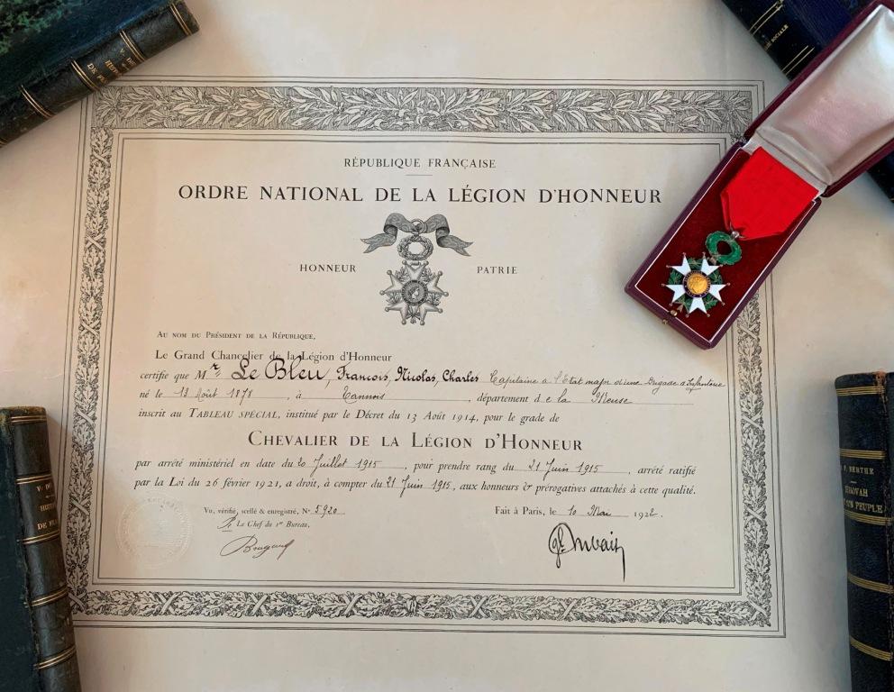 Un capitaine français reçoit les délégations Japonaises en France 1917/1920 1_capi10