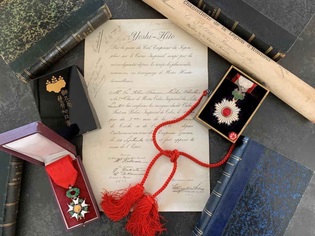 Un capitaine français reçoit les délégations Japonaises en France 1917/1920 3_capi10