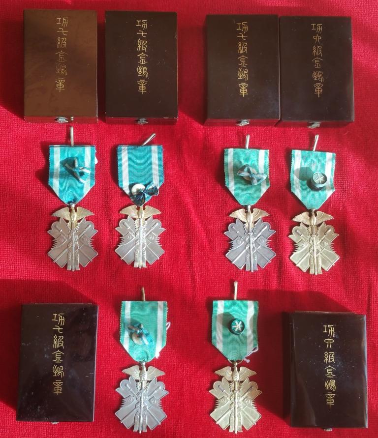 Le milan d'or sous Meiji, Taisho et Showa, les écrins..... 3_mila10