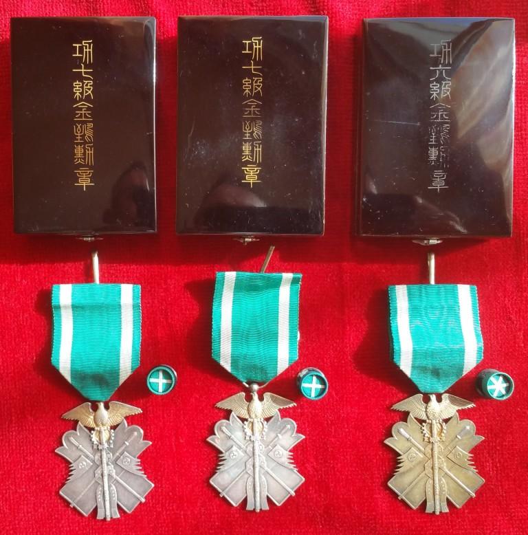 Le milan d'or sous Meiji, Taisho et Showa, les écrins..... 4_mila10