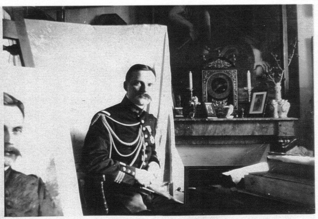 """Un lieutenant Français """"binôme"""" du prince Morimasa décoré par celui ci en 1907 George11"""