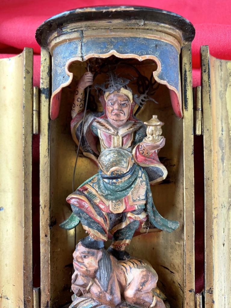 Une chapelle bouddhique portative de l'ère Edo  Img_1536