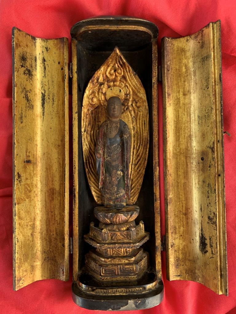 Une chapelle bouddhique portative de l'ère Edo  Img_1539