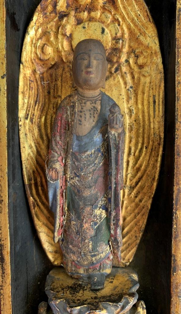 Une chapelle bouddhique portative de l'ère Edo  Img_1540