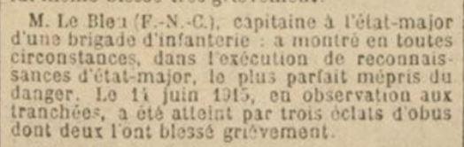 Un capitaine français reçoit les délégations Japonaises en France 1917/1920 Le_ble10