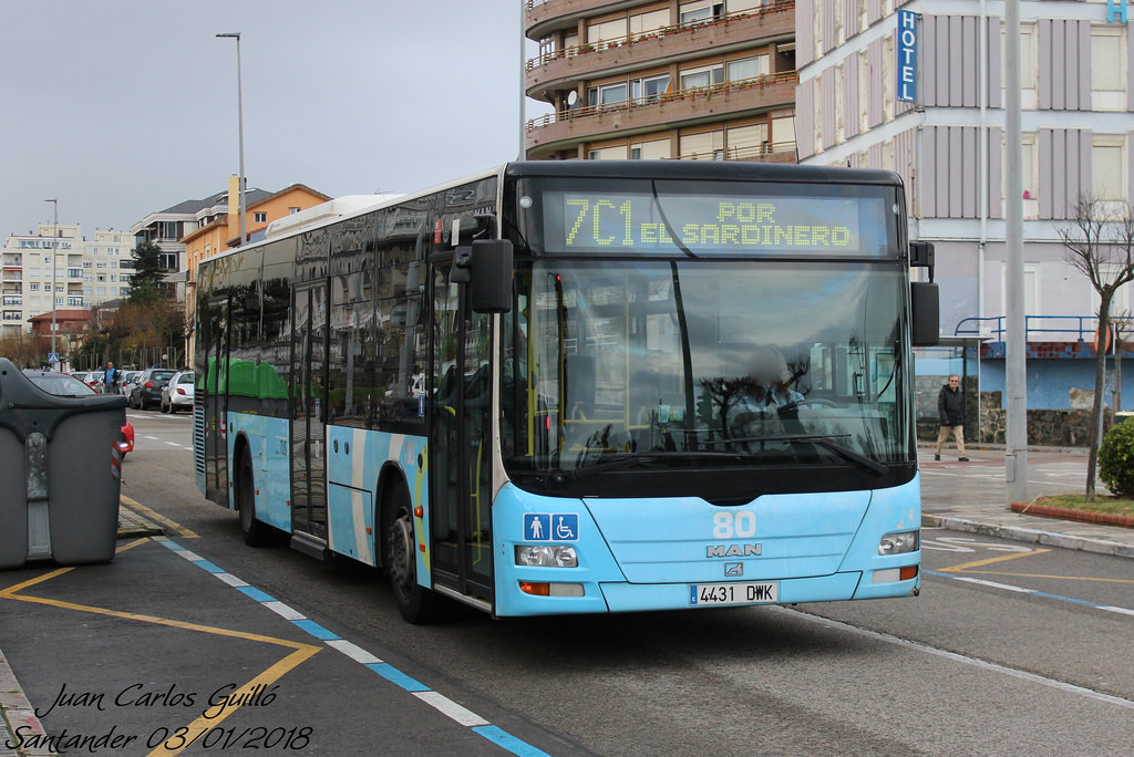 Repintado TUS Santander para man lion's city  38656110