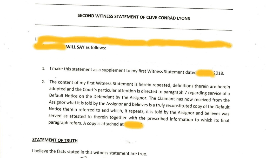 truly reconstituted copy of the Default Notice ?? Deafau10